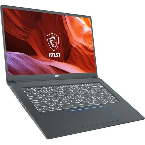 "MSI Prestige 15 A10SC-011 15.6"" Laptop (1.1 GHz Intel Core-i7-10710U, 16 GB DDR4 SDRAM, 512 GB NVMe SSD, Windows 10 Pro)"