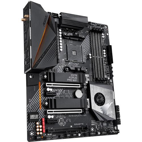 Aorus Ultra Durable X570 AORUS PRO WIFI Desktop Motherboard - AMD Chipset - Socket AM4