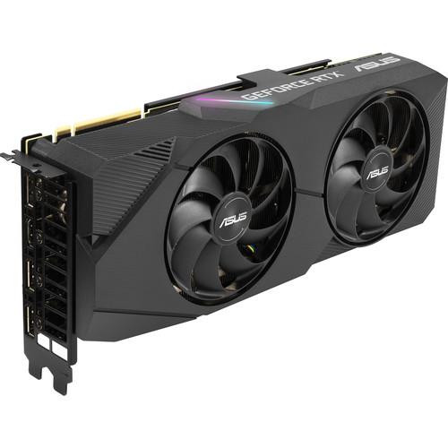 Asus Dual DUAL-RTX2080S-O8G-EVO GeForce RTX 2080 SUPER Graphic Card - 8 GB GDDR6
