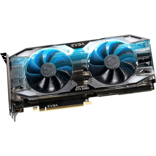 EVGA GeForce RTX 2080 08G-P4-3183-KR Super Graphic Card - 8 GB GDDR6