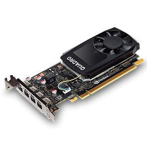 PNY Quadro P1000 VCQP1000-PB Graphic Card - 4 GB GDDR5 - Low-profile