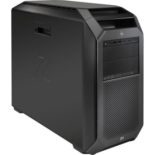 HP Z8 G4 3GF46UT#ABA Workstation Desktop (1.80 GHz (x2) Intel Xeon Silver 4108, 32 GB DDR4 SDRAM, 256 GB SSD, Windows 10 Pro)