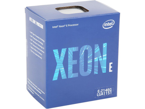 Intel Xeon E 2146G Hexa-core BX80684E2146G (6 Core) 3.50 GHz Processor - Retail Pack