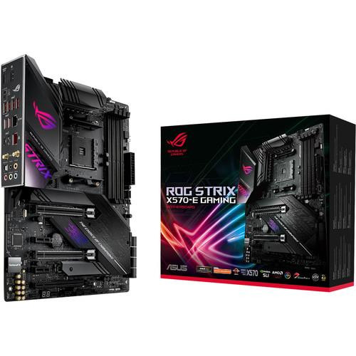 Asus ROG Strix X570-E Gaming Desktop Motherboard - AMD Chipset - Socket AM4