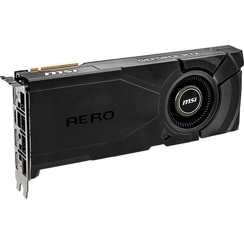 MSI AERO GeForce RTX 2080 SUPER AERO GeForce RTX 2080 SUPER Graphic Card - 8 GB GDDR6