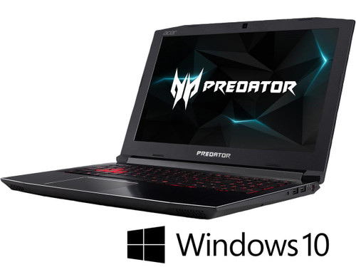 "Acer Predator Helios 300 PH315-51-74V4 NH.Q3FAA.004 15.6"" Gaming Laptop (2.20 GHz Intel Core-i7-8750H, 16 GB DDR4 SDRAM, 1 TB HDD, 256 GB SSD, Windows 10 Home)"