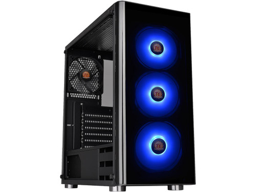 Thermaltake V200 CA-1K8-00M1WN-01 Tempered Glass RGB Edition Mid Tower Chassis
