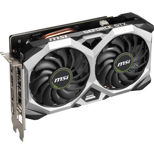 MSI VENTUS GEFORCE GTX 1660 SUPER VENTUS G166SVXSC XS OC GeForce GTX 1660 SUPER Graphic Card - 6 GB GDDR6