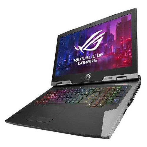 "Asus ROG G703GX-XB76 17.3"" Gaming Laptop (2.60 GHz Intel Core-i7-9750H, 32 GB DDR4 SDRAM, 512 GB SSD, 1 TB HDD, Windows 10 Pro)"