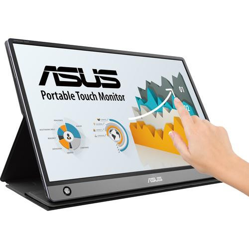 """Asus ZenScreen MB16AMT 15.6"""" LCD Touchscreen Monitor - 16:9 - 5 ms GTG"""