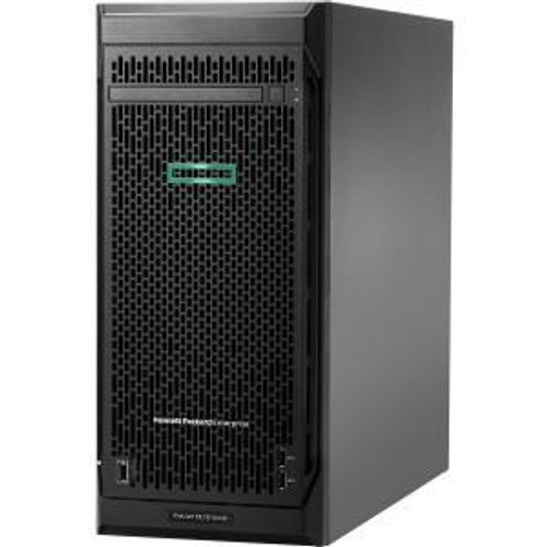 HPE ProLiant ML110 G10 P03686-S01 4.5U Tower Server (1.80 GHz Intel Xeon Silver 4108, 16 GB DDR4 SDRAM, Serial ATA/600 Controller, No HDD, No OS, Server)