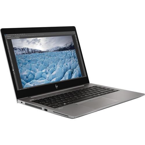 "HP ZBook 14u G6 7KJ24UT#ABA 14"" Mobile Workstation Laptop (1.60 GHz Intel Core-i5-8265U, 8 GB DDR4 SDRAM, 256 GB SSD, Windows 10 Pro)"