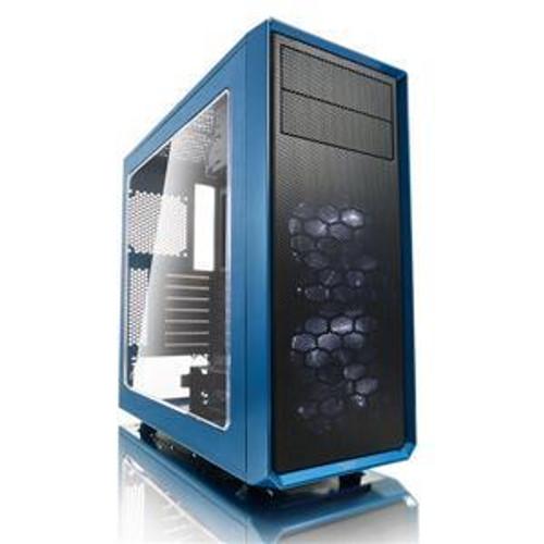 Fractal Design Focus G FD-CA-FOCUS-BU-W Computer Case with Windowed Side Panel