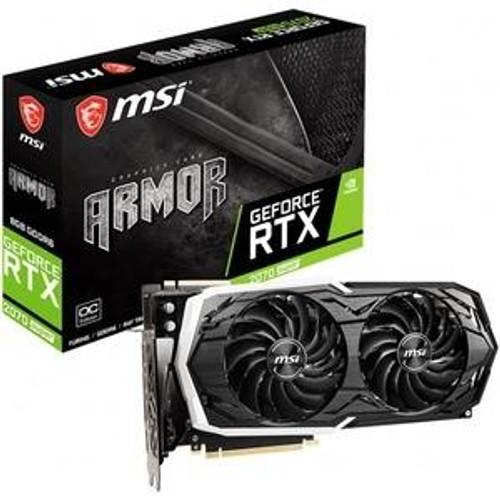 MSI ARMOR GeForce RTX G270S-AC 2070 SUPER ARMOR OC GeForce RTX 2070 Super Graphic Card - 8 GB GDDR6