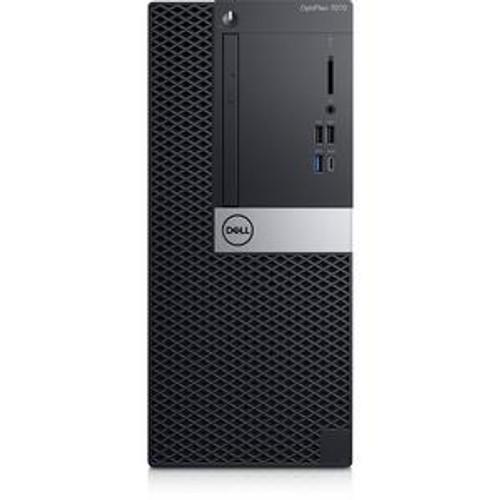 Dell OptiPlex 7000 7070 0N5V6 Desktop (3 GHz Intel Core-i7-9700, 16 GB DDR4 SDRAM, 256 GB SSD, Windows 10 Pro)