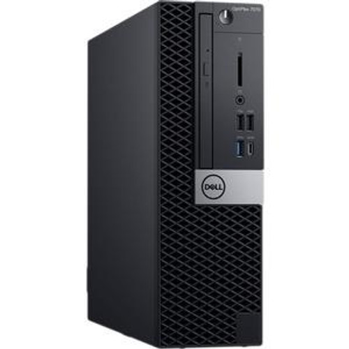 Dell OptiPlex 7000 7070 8RXNC Desktop (3 GHz Intel Core-i5-9500, 8 GB DDR4 SDRAM, 1 TB HDD, Windows 10 Pro)