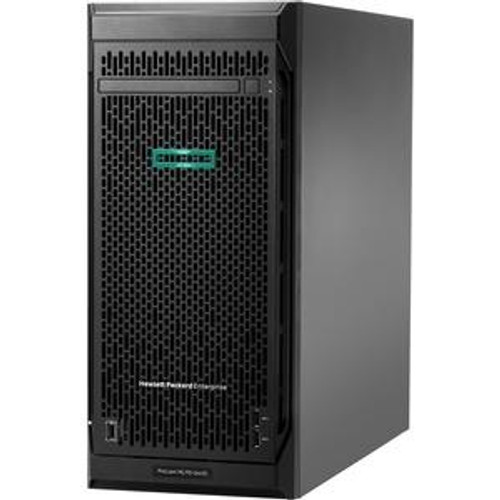HPE ProLiant ML110 P19116-001 G10 4.5U Server Desktop (1.90 GHz Intel Xeon Bronze 3204, 16 GB DDR4 SDRAM, 4 TB HDD, Serial ATA/600 Controller, No O/S)