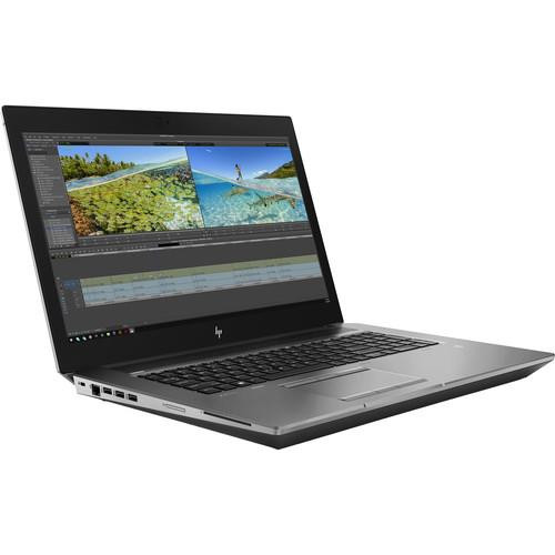 "HP ZBook 17 G6 8FP70UT#ABA 17.3"" Mobile Workstation Laptop (2.60 Ghz Intel Core-i7-9850H, 32 GB DDR4 SDRAM, 512 GB SSD, Windows 10 Pro)"
