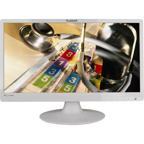 "Planar PLL2210MW 22"" Full HD LED LCD Monitor - 16:9 - White"
