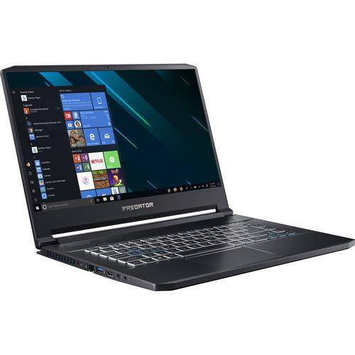 "Acer Predator Triton 500 PT515-51-765U NH.Q4WAA.002 15.6"" Gaming Laptop (2.20 GHz Intel Core-i7-8750H, 32 GB DDR4 SDRAM, 1 TB SSD, Windows 10 Home)"