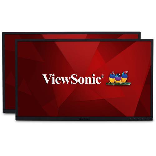 "Viewsonic VG2248_H2 21.5"" Full HD WLED LCD Monitor - 16:9 - Black - 2 Pack"