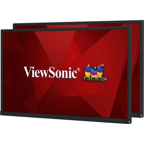 "Viewsonic VG2448_H2 24"" Full HD WLED LCD Monitor - 16:9 - 2 Pack"