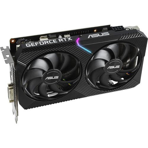 Asus Dual DUAL-RTX2070-O8G-MINI GeForce RTX 2070 Graphic Card - 8 GB GDDR6