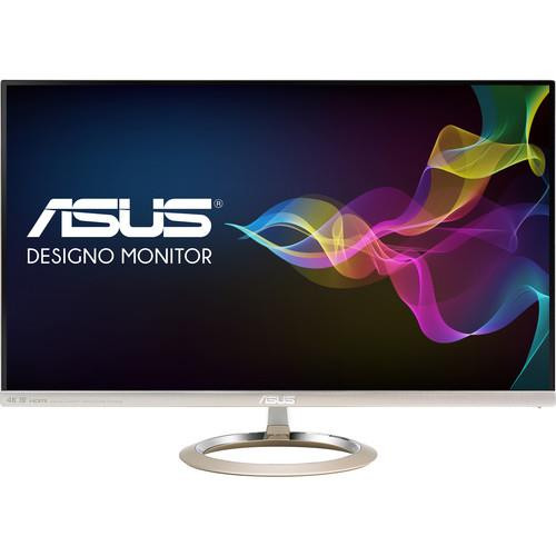 "Asus Designo MX27UCS 27"" 4K UHD LED LCD Monitor - 16:9 - Icicle Gold, Black"