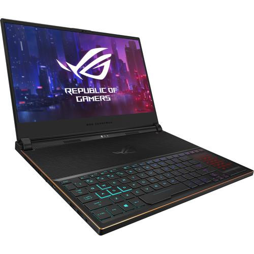"Asus ROG Zephyrus S GX531GX-XB76 15.6"" Gaming Laptop (2.60 GHz Intel Core-i7-9750H, 16 GB DDR4 SDRAM, 1 TB SSD, Windows 10 Pro)"