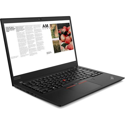 "Lenovo ThinkPad T495s 20QJ0001US 14"" Touchscreen Laptop (2.10 GHz AMD Ryzen-5-3500U, 8 GB DDR4 SDRAM, 256 GB SSD, Windows 10 Pro)"