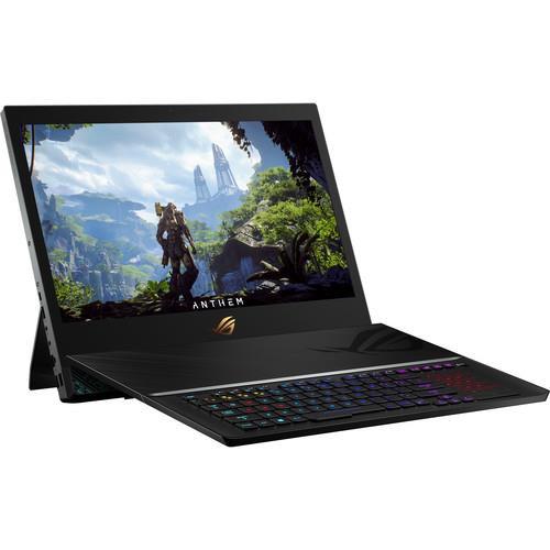 "ASUS GZ700GX-XB98K 17.3"" Gaming Laptop (2.4 GHz Intel Core-i9-9980HK, 64 GB DDR4 SDRAM, 512 GB NVMe PCIe SSD x 3, Windows 10 Pro)"