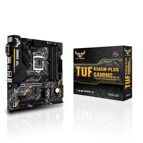 ASUS TUF B365M-PLUS GAMING Desktop Motherboard - Intel Chipset - Socket H4 LGA-1151