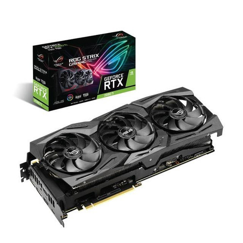 Asus NVIDIA ROG Strix GeForce RTX 2080 TI 11GB GDDR6 2HDMI/2DisplayPort/USB Type-C PCI-Express Video Card