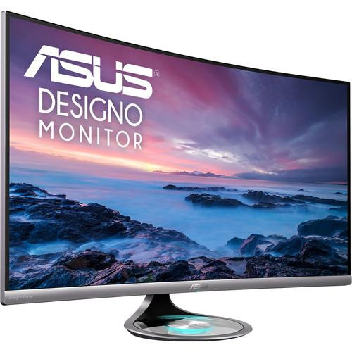 "Asus Designo MX32VQ 31.5"" WQHD Curved Screen LED Gaming LCD Monitor - 16:9 - Black"