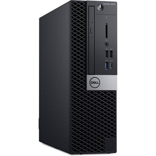 Dell OptiPlex 5000 5070 8756K Desktop (3 GHz Intel Core-i7-9700, 8 GB DDR4 SDRAM, 256 GB SSD, Windows 10 Pro)