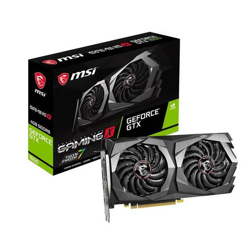 MSI GeForce GTX 1650 GAMING X G165D6GX 4G GeForce GTX 1650 Graphic Card - 4 GB GDDR6