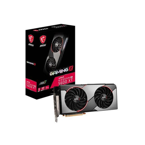 MSI Radeon RX 5600 XT GAMING X R5600XTGX Graphic Card - 6 GB GDDR6