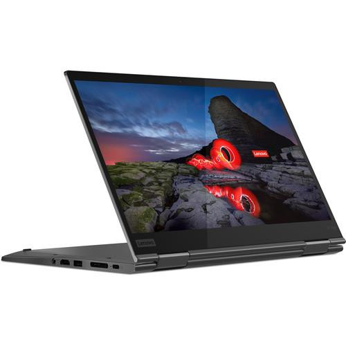 "Lenovo ThinkPad 20UB001FUS 14"" Touchscreen 2 in 1 Laptop (1.60 GHz Intel Core-i5-10210U 10th Gen, 8 GB DDR4 SDRAM, 256 GB SSD, Windows 10 Pro)"