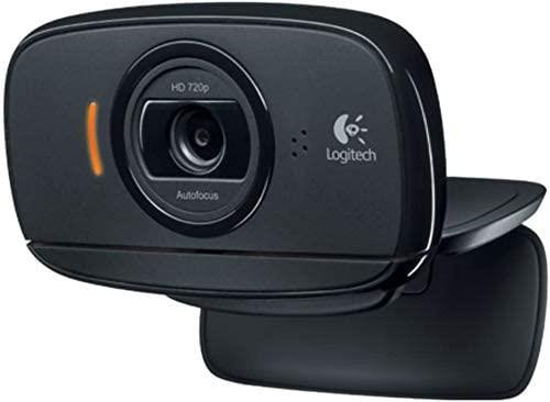 Logitech C525 HD 960-000715 Black USB 2.0 Webcam