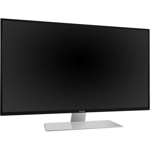 Viewsonic VX4380-4K 4K UHD WLED LCD Monitor - 16:9 - Black, Gray