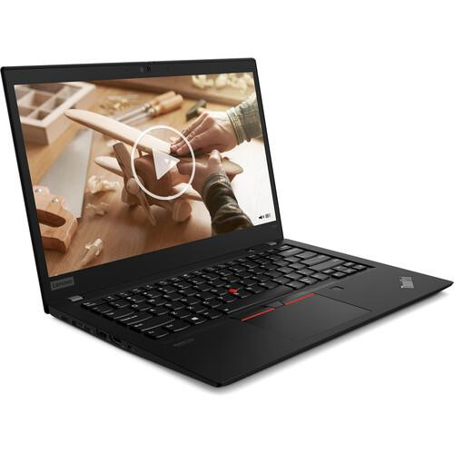 "Lenovo ThinkPad T14s Gen 1 20T0002LUS 14"" Touchscreen Laptop (1.80 GHz Intel Core-i7-10510U (10th Gen), 8 GB DDR4 SDRAM, 256 GB SSD, Windows 10 Pro)"