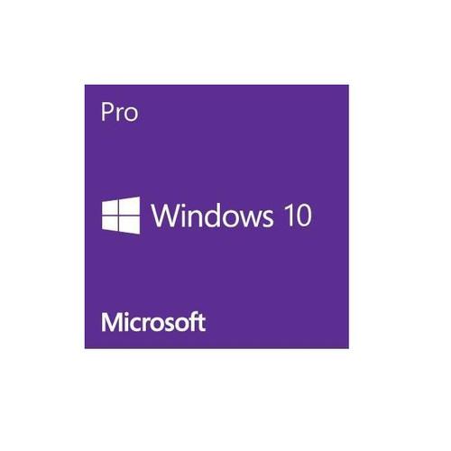 Microsoft Software FQC-08930 Windows 10 Professional 64Bit 1-Pack English DSP OEI DVD Brown Box