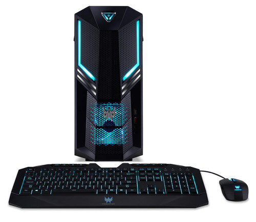 Acer Predator PO3-600 Gaming Desktop (3 GHz Intel Core-i7-i7-9700 9th Gen Octa-core (8 Core), 32 GB DDR4 SDRAM, 2 TB HDD, 1 TB SSD, Windows 10 Pro)