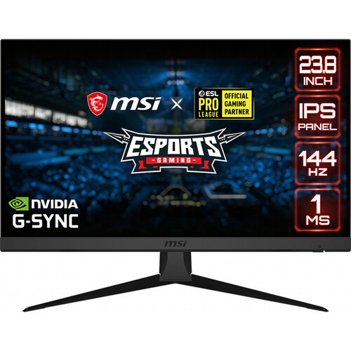 MSI Optix G242 24 inch IPS HD OPTIXG242 144Hz Gaming Display Monitor Freesync