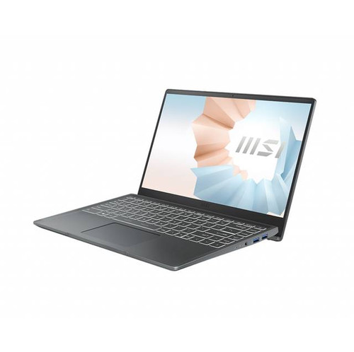"MSI Modern 14 B11SB-288 14"" Laptop (900 MHz Intel Core-i7-1165G7 (11th Gen), 16 GB DDR4 SDRAM, 512 GB SSD, Windows 10 Home)"
