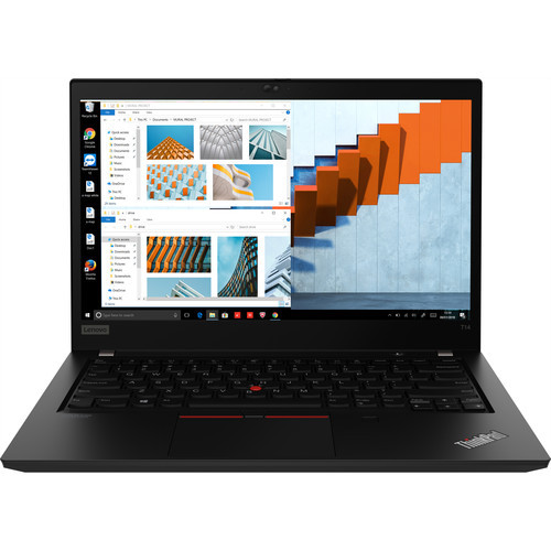 "Lenovo ThinkPad T14 Gen 1 20S0002KUS 14"" Touchscreen Laptop (1.60 GHz Intel Core-i5-10210U (10th Gen), 16 GB DDR4 SDRAM, 512 GB SSD, Windows 10 Pro)"
