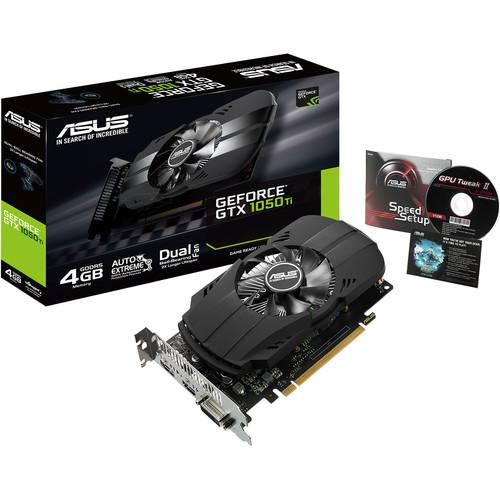 Asus Phoenix PH-GTX1050TI-4G GeForce GTX 1050 TI 4 GB GDDR5 Video Card
