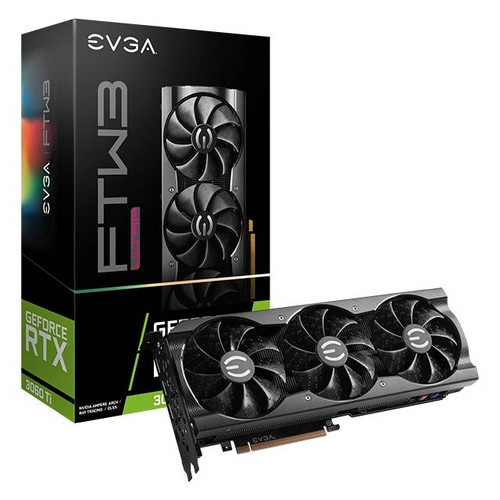 EVGA GeForce RTX 3060 Ti 08G-P5-3667-KR 8 GB GDDR6 Video Card