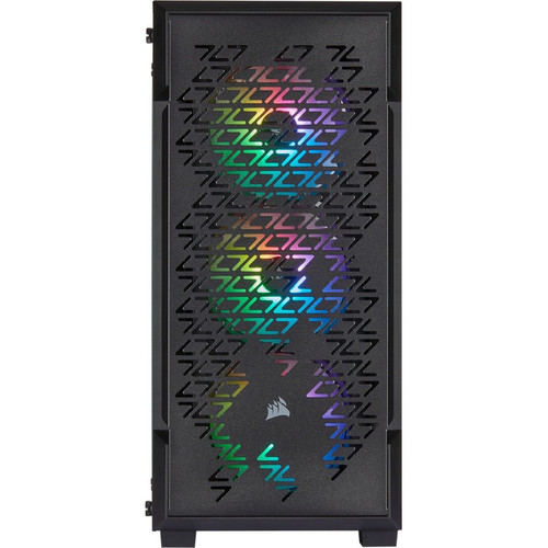 Corsair iCUE 220T RGB Airflow CC-9011173-WW Tempered Glass Mid-Tower Smart Chassis