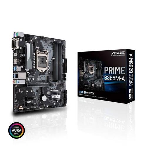 Asus Prime B365M-A Desktop Motherboard - Intel Chipset - Socket H4 LGA-1151